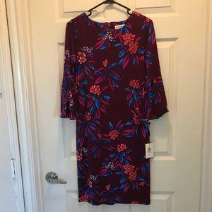 NWT- Calvin Klein Floral Print Dress